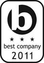 Best Companies 3 Star Logo 2011