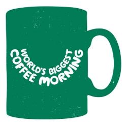 Macmillan coffee logo
