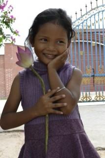 Volunteering in a little private village school
