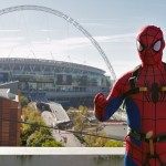 Spiderman at Wembley