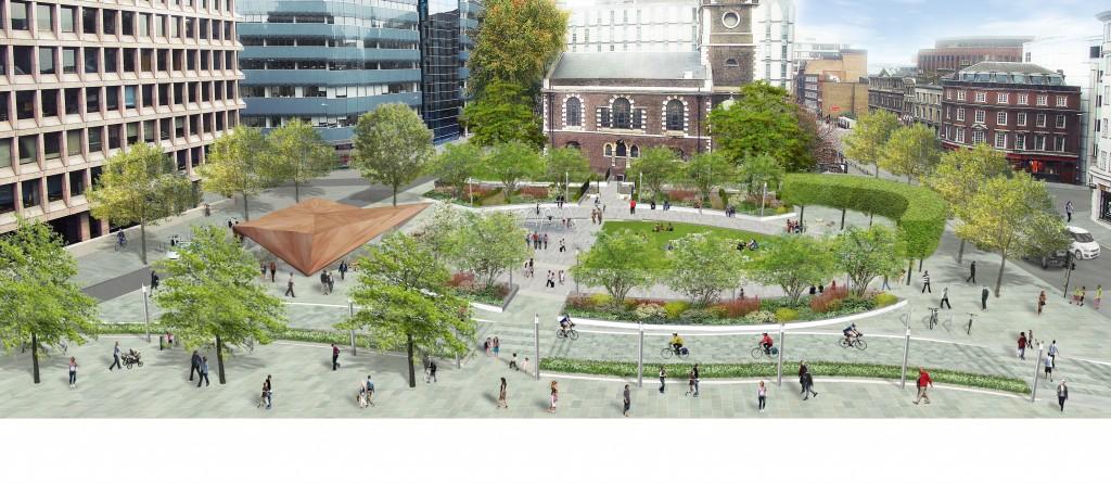 New western public space