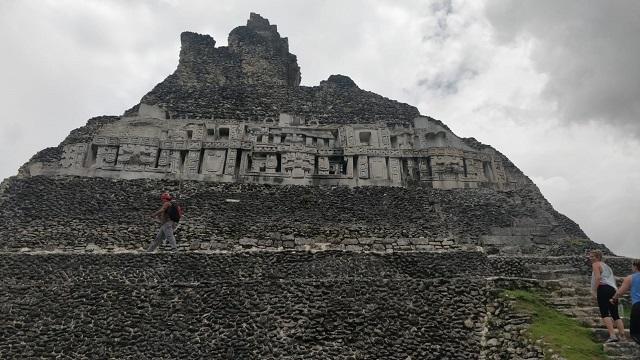 Site of the Mayan ruins - volunteer trip to Belize