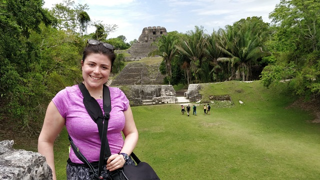 Pronounced Shoo-nan-too-nitch - site of the Mayan ruins