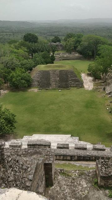 Views at the Mayan Ruins