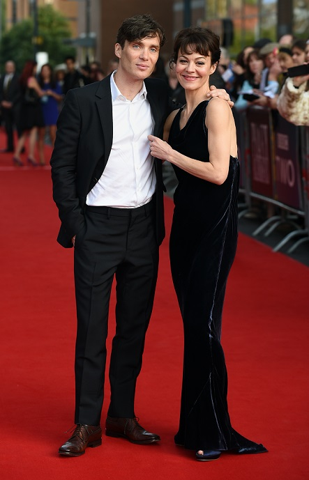 Cillian Murphy and Helen McCrory at the premiere of Peaky Blinders: Series 2 at Broad Street Cineworld, Birmingham.