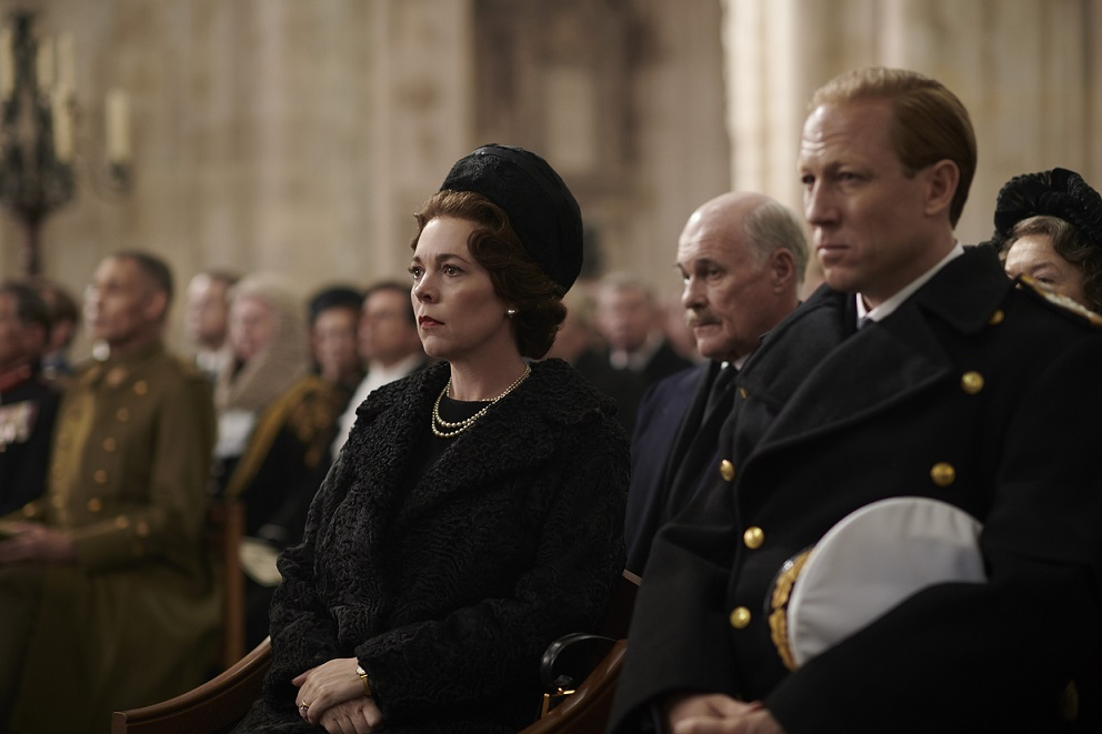 Olivia Coleman in The Crown
